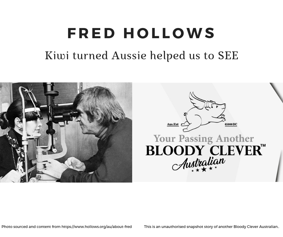 Fred Hollows Meme